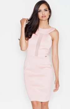 *Figl M372 sukienka róż