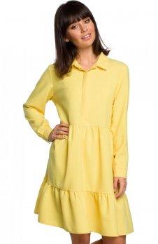 BE B110 sukienka żółta