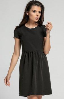 Nommo NA568 sukienka czarna