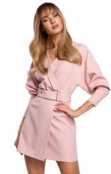 Stylowa sukienka z paskiem M501