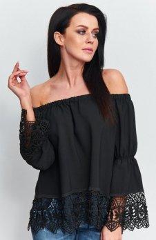 Roco B036 bluzka hiszpanka czarna