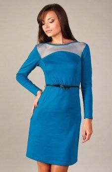 Vera Fashion Giselle sukienka niebieski