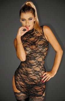 Koronkowa dopasowana sukienka F128