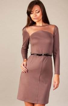 Vera Fashion Giselle sukienka beż