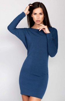 Cover ММ1016 sukienka niebieska
