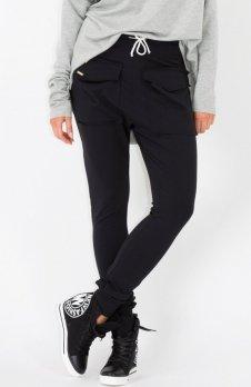 Makadamia M141 spodnie czarne