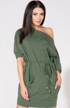 Tessita T155/5 sukienka zielona