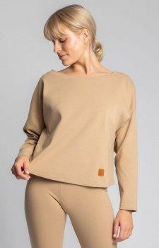 Bawełniana bluza damska szara LA037