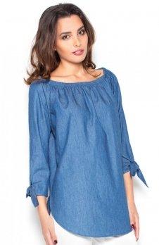 Katrus K377 koszula niebieska