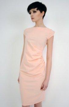 Vera Fashion Tina sukienka pudrowy