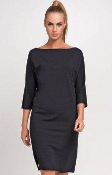 Makadamia M236 sukienka czarna