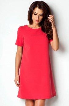 Ivon P17 sukienka czerwony