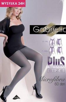 Gabriella Microfibre 60 DEN Plus Size code 162 rajstopy