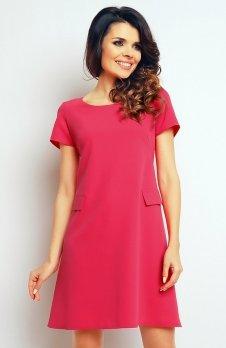 Infinite You M081 sukienka różowa