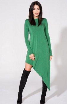 Tessita T152/6 sukienka zielona