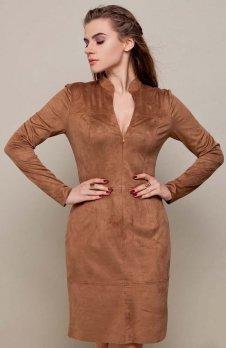 Cover GR1418 sukienka cappucino