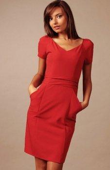 Vera Fashion Michelle sukienka czerwona