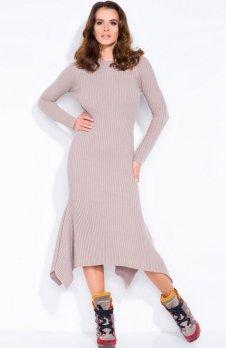 FIMFI I129 sukienka mocca