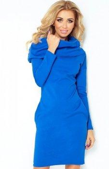 SAF 131-2 sukienka chabrowa