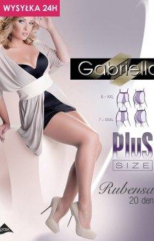 Gabriella Rubensa Plus Size ccode 161 rajstopy klasyczne