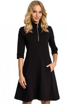 Moe M349 sukienka czarna