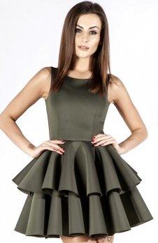 Bicot 2100-13 sukienka khaki