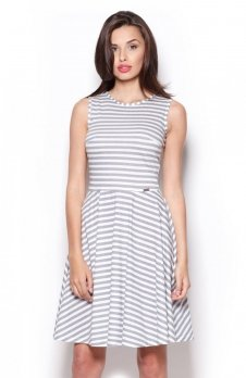Figl M295 sukienka szara