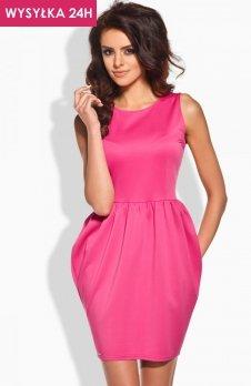 *Lemoniade L141 sukienka różowa