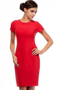 Moe MOE186 sukienka czerwona