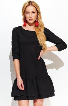 *Makadamia M427 sukienka czarna