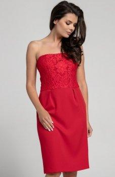 Nommo NA310 sukienka czerwona