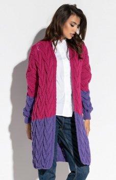 Fobya F571 sweter fioletowy