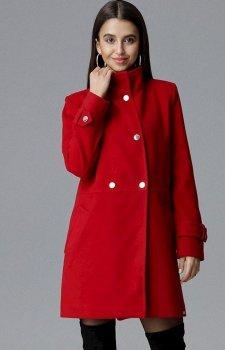 Figl M623 płaszcz czerwony