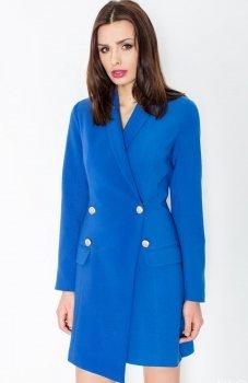 Figl M447 sukienka niebieska