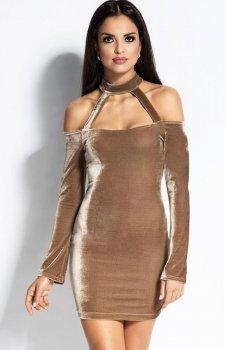 Dursi Callie sukienka beżowa