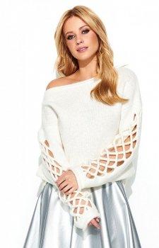 Makadamia S65 sweter ecru