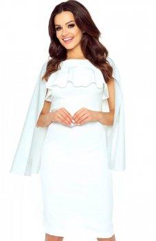 Bergamo 94-02 sukienka ecru
