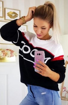 Carmel Mood sweter czarny