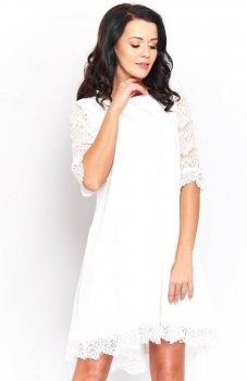 Roco 0188 sukienka biała