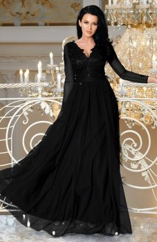 Bicotone 2167-06 sukienka czarna