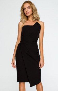 Moe M409 sukienka wieczorowa czarna