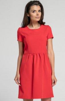 Nommo NA568 sukienka czerwona