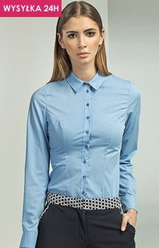 *Nife k43 koszula niebieska