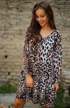 Roco 0217 sukienka panterka
