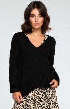 BE BK012 sweter czarny
