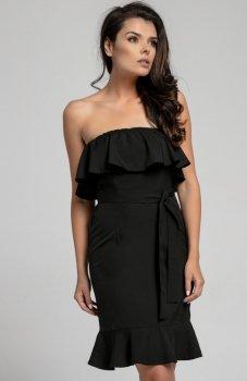 Nommo NA303 sukienka czarna