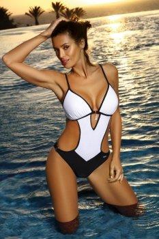 Kostium kąpielowy Crystal Bianco M-492 (4)