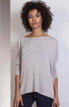 Lanti SWE114 sweter szary