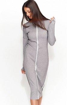 *Numinou NU59 sukienka szara