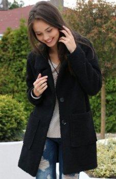 Roco 0012 płaszcz czarny